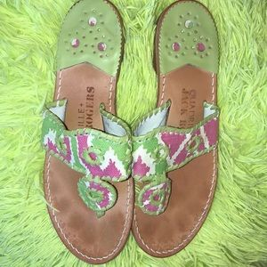 Jack Rogers Quadrille Size 6 Great Condition